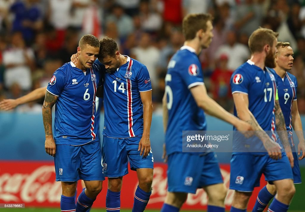 Iceland v England - Euro 2016 : News Photo