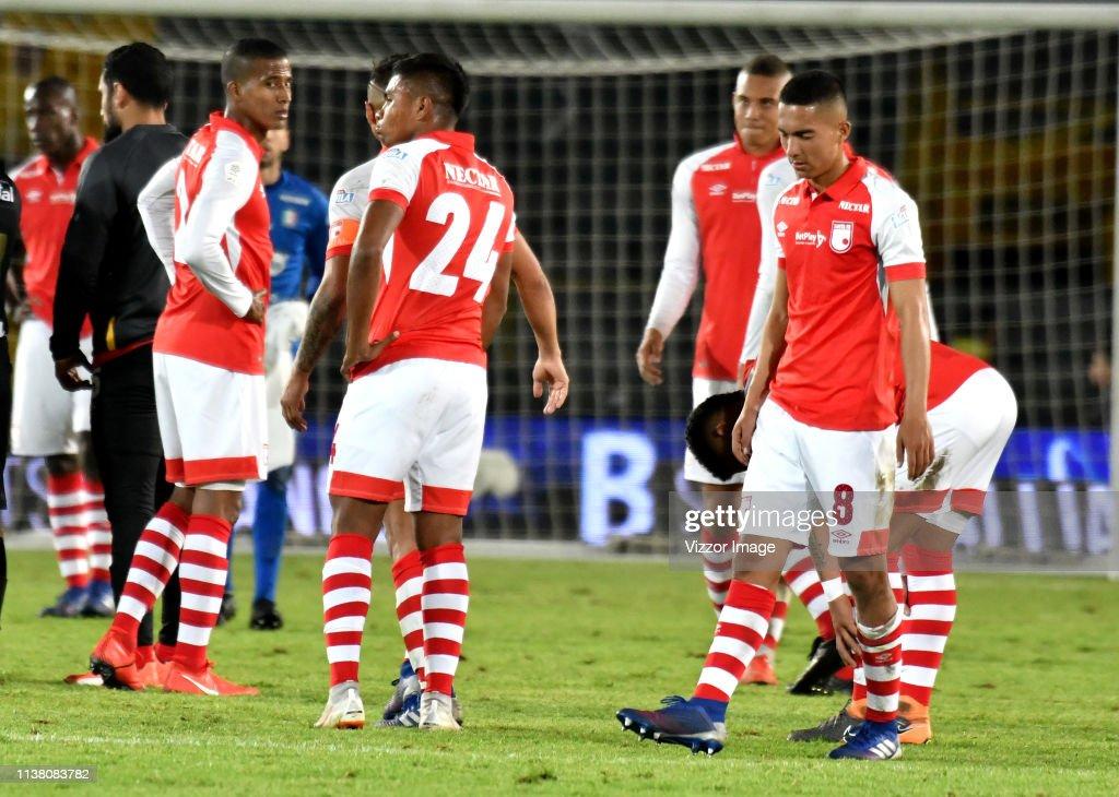 COL: Independiente Santa Fe v Once Caldas - Torneo Apertura Liga Aguila 2019
