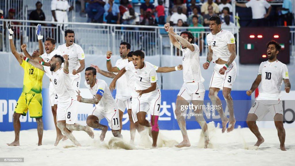 Nigeriav Iran - FIFA Beach Soccer World Cup Bahamas 2017 : ニュース写真
