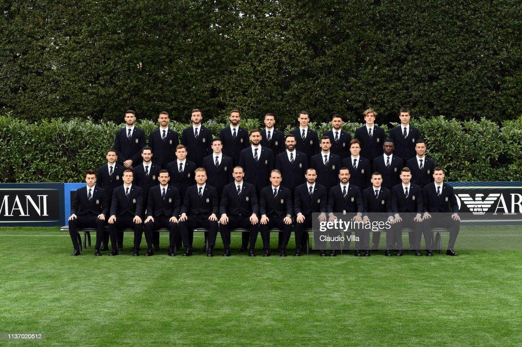 Italy Official Team Photo : Foto jornalística