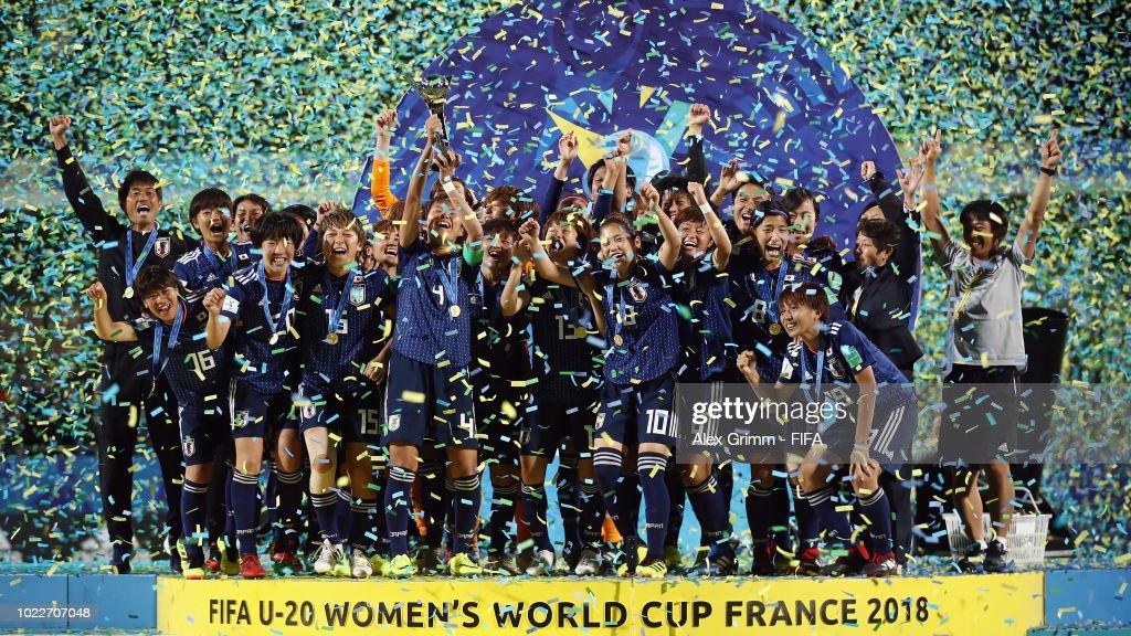 Spain v Japan - FIFA U-20 Women's  World Cup France 2018 Final : ニュース写真