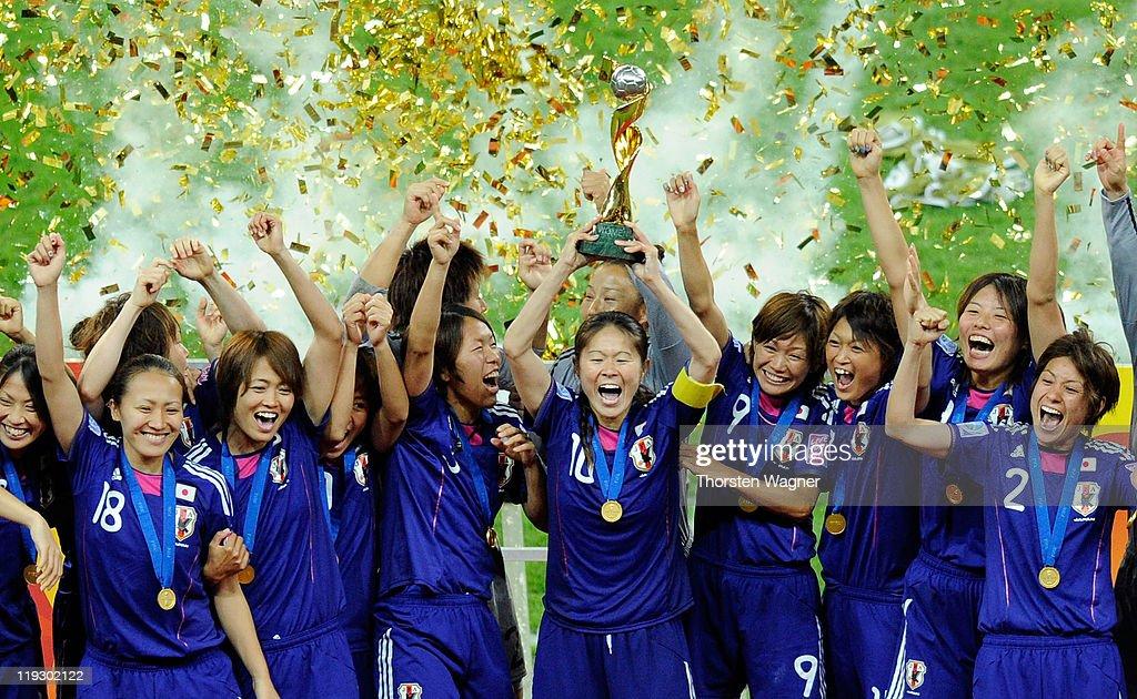 Japan v USA: FIFA Women's World Cup 2011 Final : News Photo