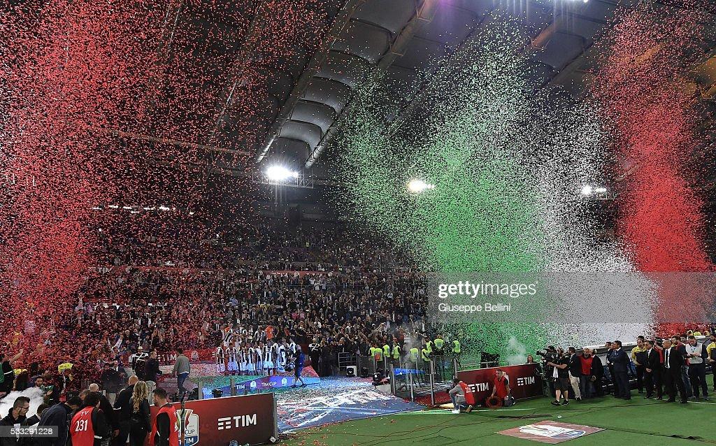 AC Milan v Juventus FC - TIM Cup Final : Nachrichtenfoto