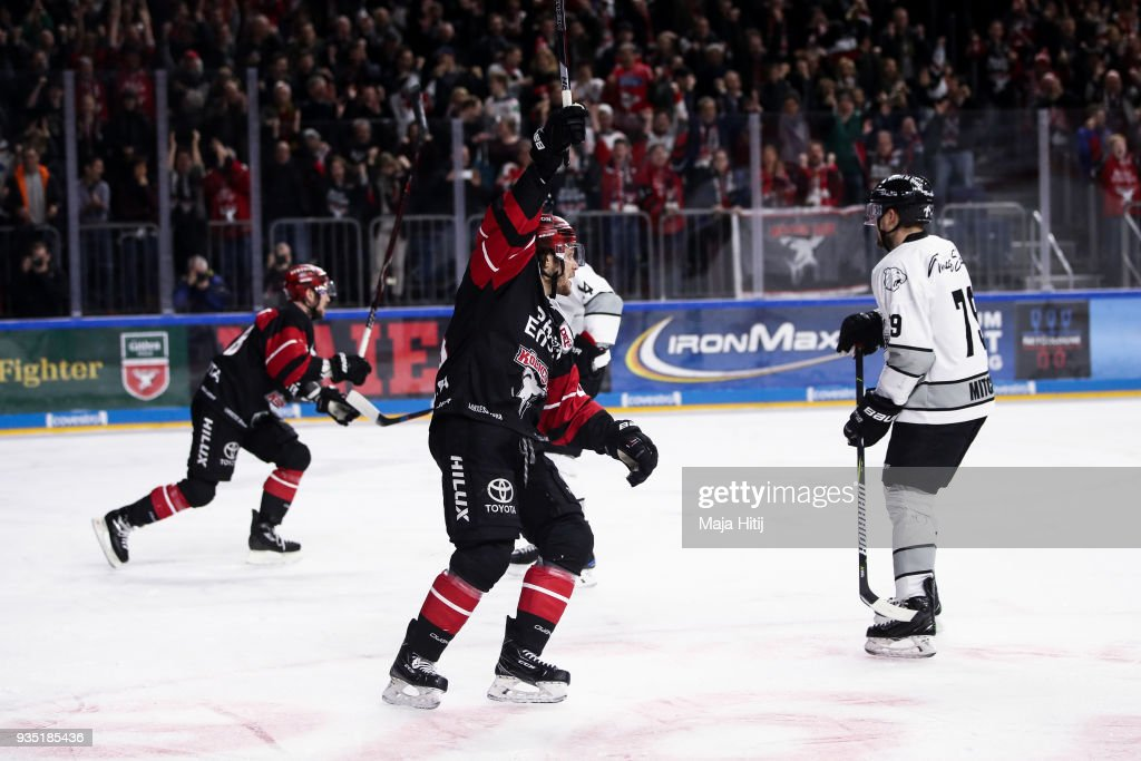Koelner Haie v Thomas Sabo Ice Tigers - DEL Playoffs Quarter Final Game 4
