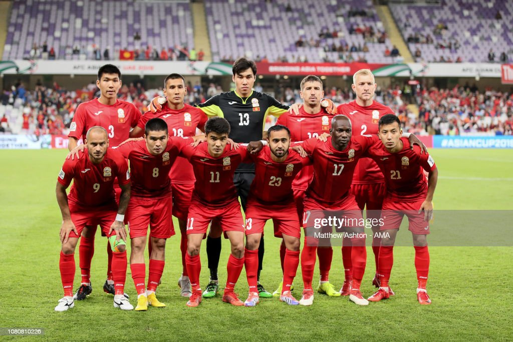 Kyrgyz v South Korea - AFC Asian Cup Group C : News Photo