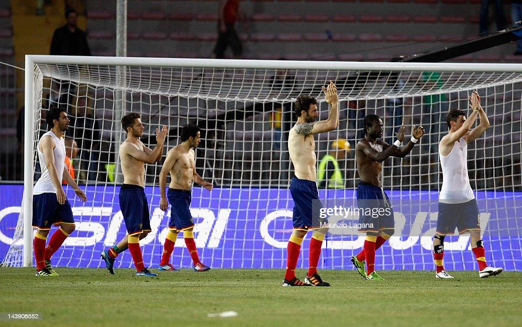 US Lecce v ACF Fiorentina  - Serie A : News Photo