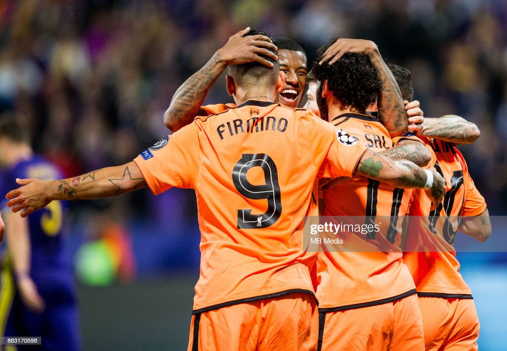 NK Maribor vs Liverpool - UEFA Champions League 2017/18 : News Photo