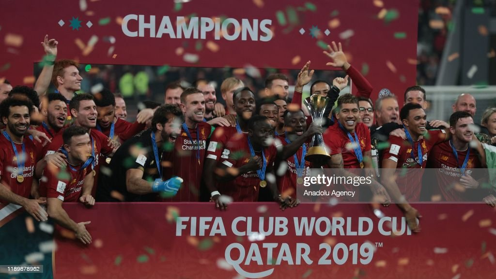 Liverpool win their first FIFA Club World Cup title : News Photo