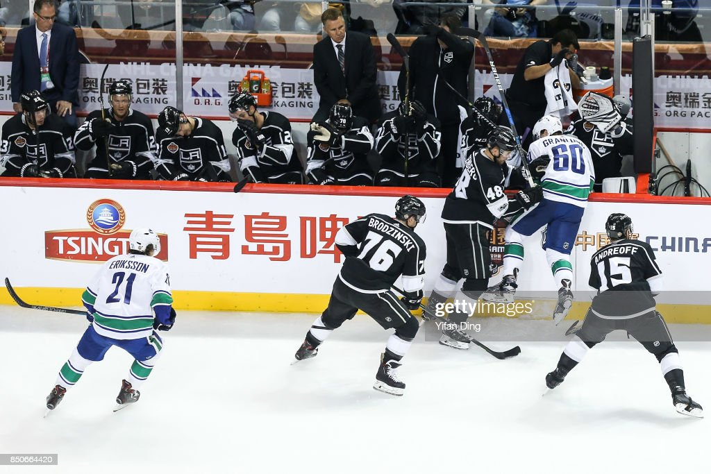 2017 NHL China Games - Los Angeles Kings v Vancouver Canucks