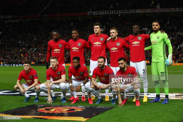 673 789 Manchester United Team Photos And Premium High Res Pictures Getty Images