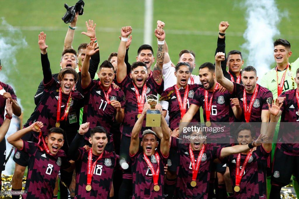 Honduras v Mexico - Final 2020 Concacaf Men's Olympic Qualifying : News Photo