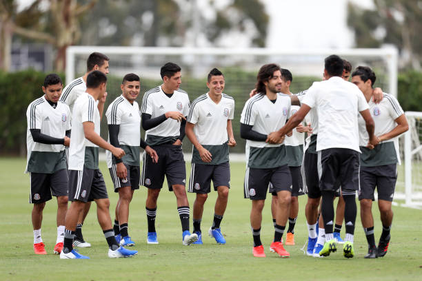 CA: Mexico Training Session