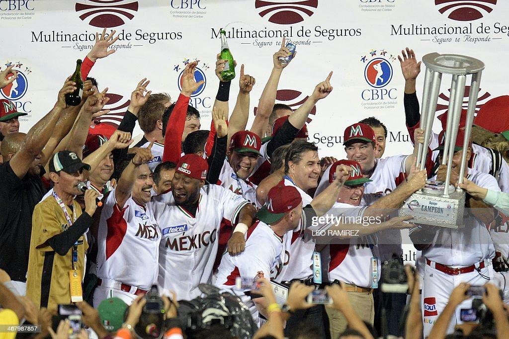 BASEBALL-CARIBBEAN-MEX-PRI : News Photo