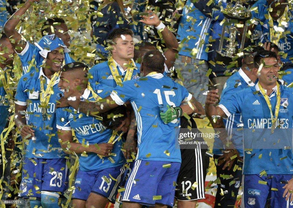 Santa Fe v Millonarios - Final Liga II 2017