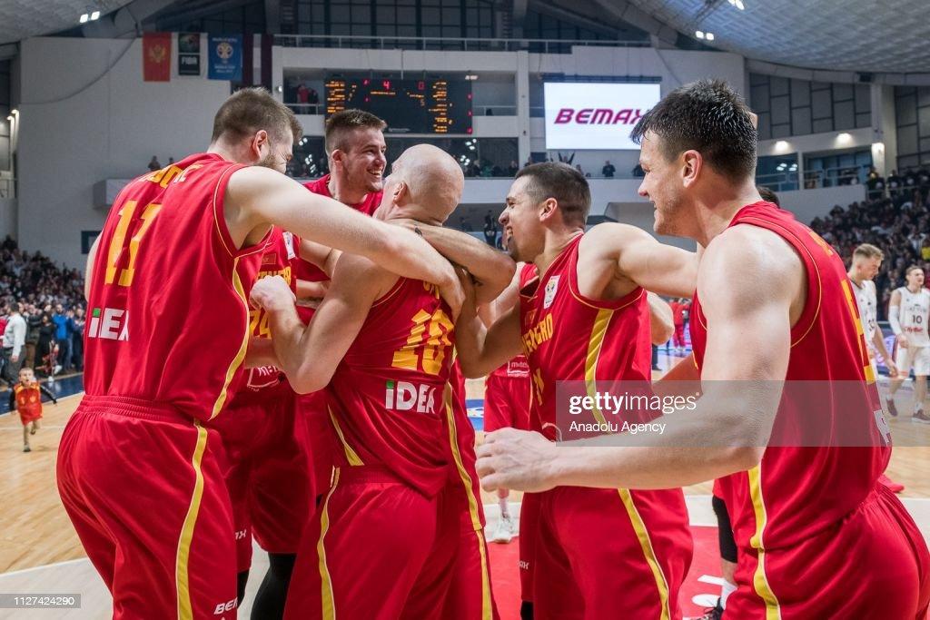 Montenegro vs Latvia - FIBA Basketball World Cup 2019 : News Photo
