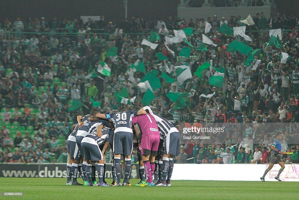Santos Laguna v Monterrey - Clausura 2016 Liga MX : News Photo