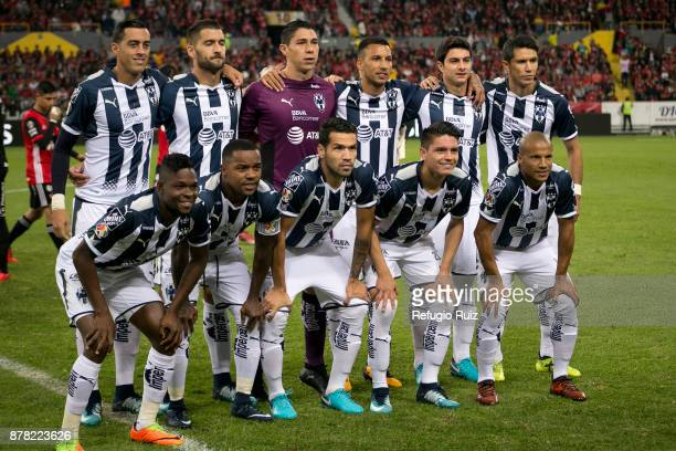 Players of Monterrey pose for photos prior the quarter finals first leg match between Atlas and Monterrey as part of the Torneo Apertura 2017 Liga MX...