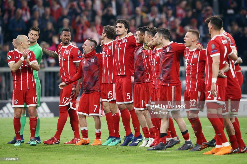 Bayern Muenchen v Sevilla FC - UEFA Champions League Quarter Final Second Leg : News Photo