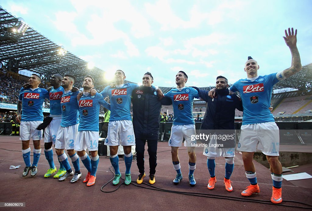SSC Napoli v Carpi FC - Serie A : News Photo