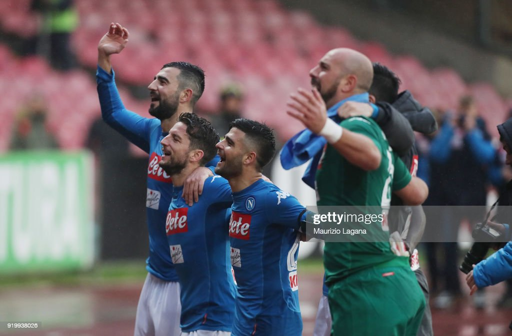 SSC Napoli v Spal - Serie A : News Photo