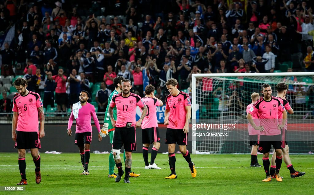 Slovenia v Scotland - FIFA 2018 World Cup Qualifier : News Photo