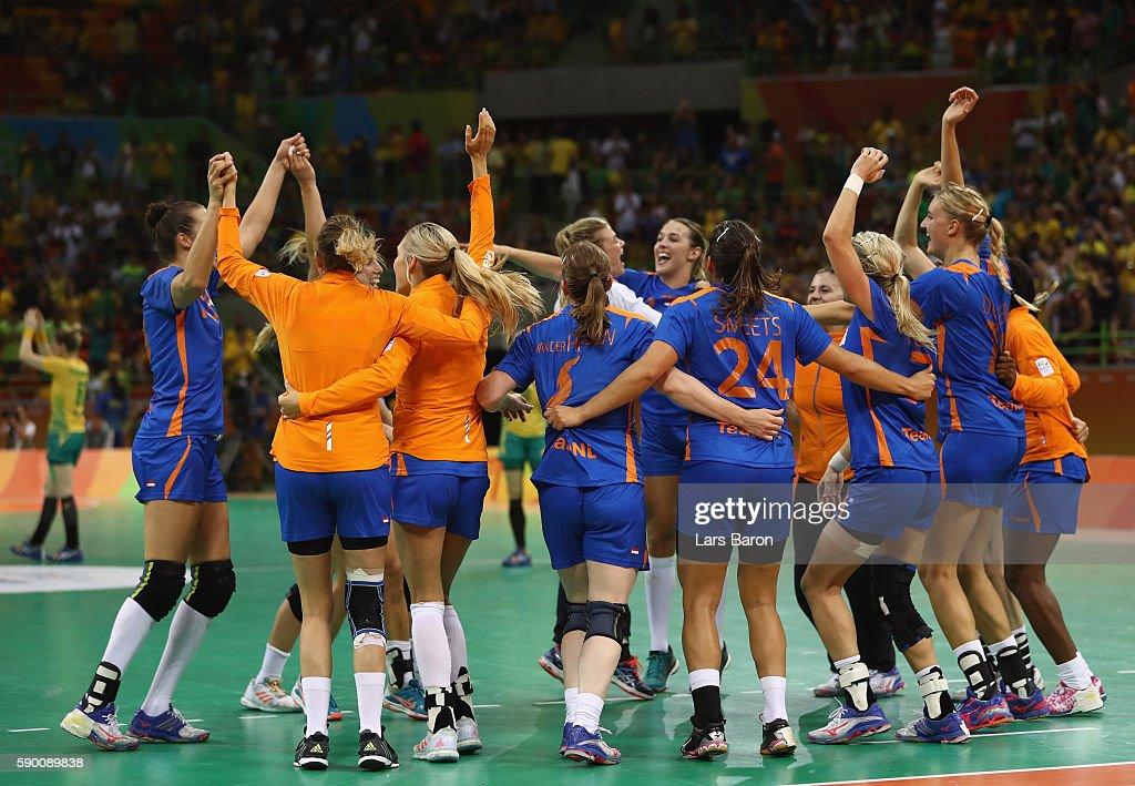 Handball - Olympics: Day 11 : Nieuwsfoto's