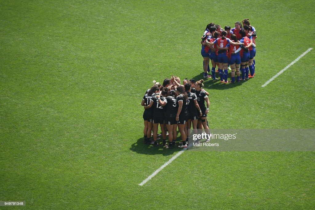 HSBC Women's Rugby Sevens Kitakyushu - Day 2