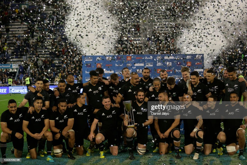 Argentina v New Zealand - The Rugby Championship : News Photo