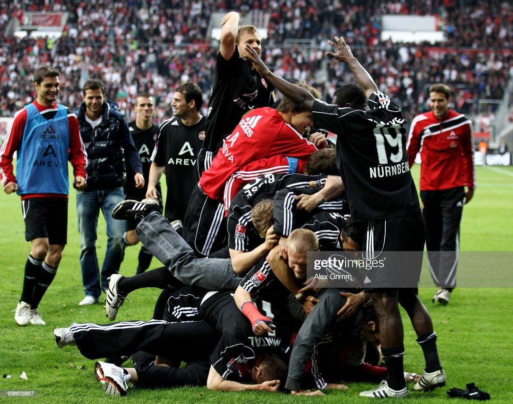 FC Augsburg v 1. FC Nuernberg - Bundesliga Play Off - Leg Two : ニュース写真