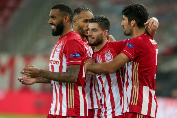 GRC: Olympiacos FC v Olympique de Marseille: Group C - UEFA Champions League