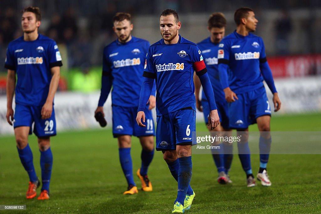 SV Sandhausen v SC Paderborn  - 2. Bundesliga : News Photo