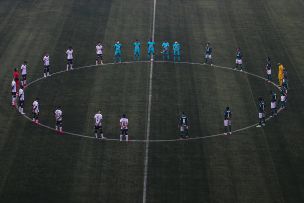 BRA: Palmeiras and Corinthians Play Behind Closed Doors the Final Match of the Sao Paulo State Championship As Brazil Deaths Near 100,000 due to Coronavirus (COVID - 19)