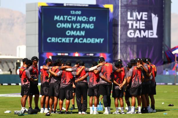 OMN: Oman v Papua New Guinea - ICC Men's T20 World Cup 2021
