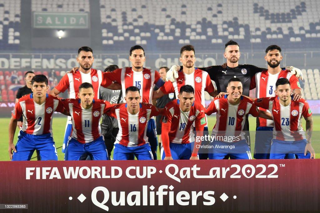 Paraguay v Brazil - FIFA World Cup 2022 Qatar Qualifier : Foto jornalística