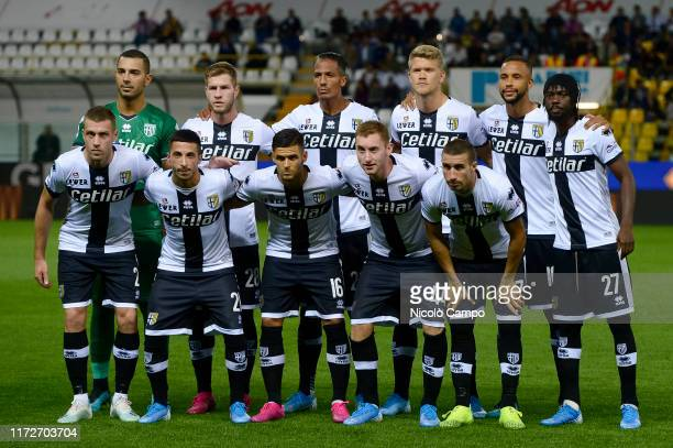 Players of Parma Calcio pose for a team photo prior to the Serie A football match between Parma Calcio and Torino FC Parma Calcio won 32 over Torino...