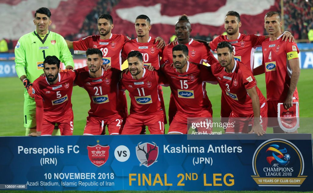 Players Of Persepolis Poses For Team Photo During The Afc Champions News Photo Getty Images