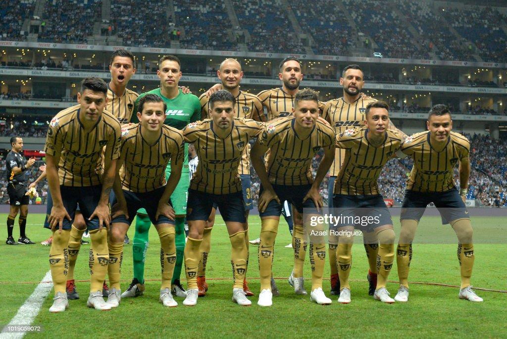 Monterrey v Pumas UNAM - Torneo Apertura 2018 Liga MX