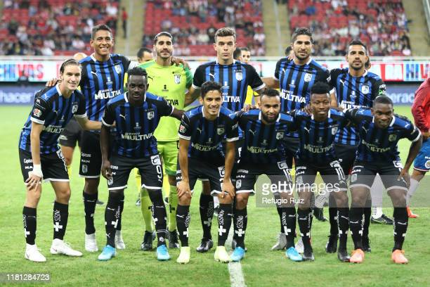 Players of Queretaro pose for photos prior to the 18th round match between Chivas and Queretaro as part of the Torneo Apertura 2019 Liga MX at Akron...