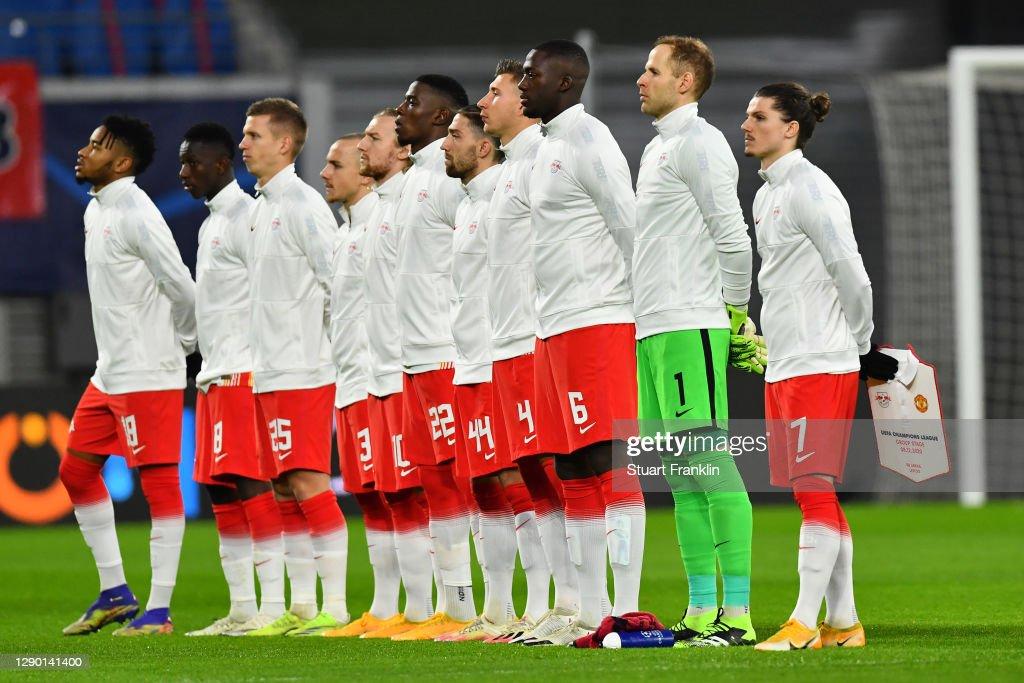 RB Leipzig v Manchester United: Group H - UEFA Champions League : ニュース写真