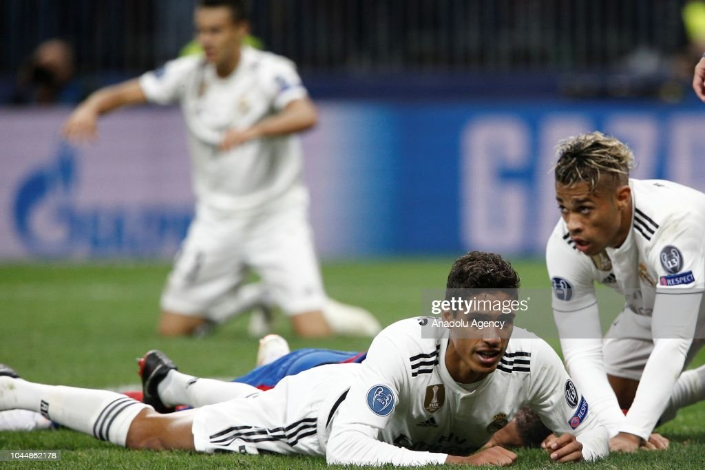 CSKA Moscow vs Real Madrid  - UEFA Champions League : News Photo