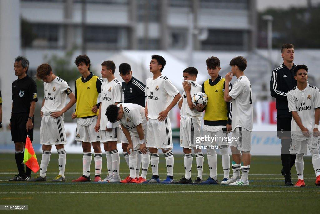 Real Madrid v FC Tokyo - U16 Kirin Lemon Cup Final : Nieuwsfoto's