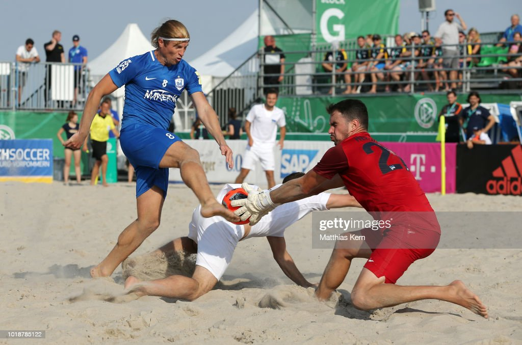 Rostocker Robben v Hertha BSC Beachsoccer - Deutsche Beachsoccer-Liga Semi Final