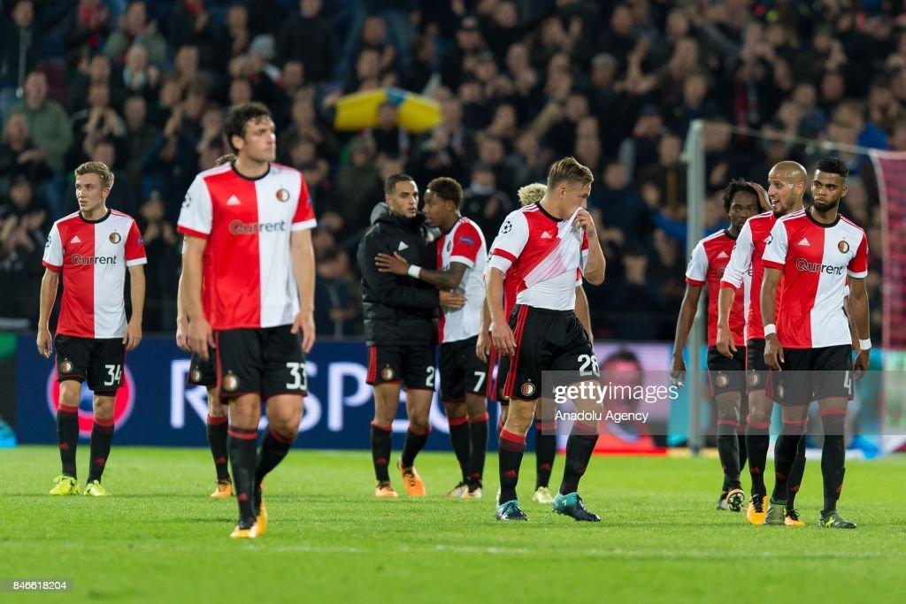 Feyenoord vs Manchester City : UEFA Champions League : News Photo