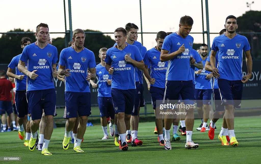 Russian National Team training session : News Photo