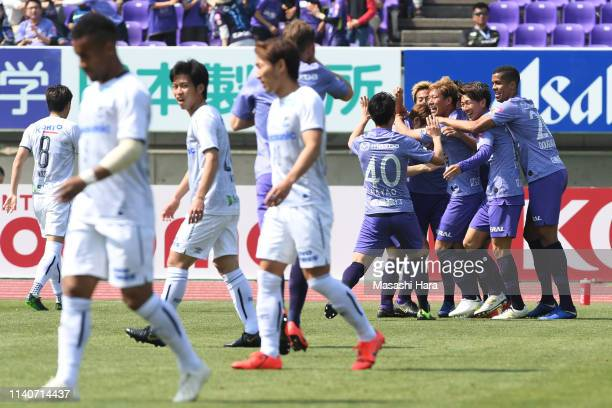 343 Gamba Osaka V Sanfrecce Hiroshima J League J1 Photos And Premium High Res Pictures Getty Images