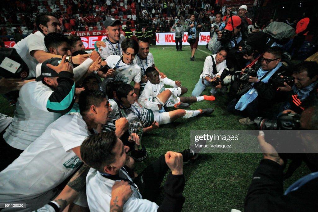 Toluca v Santos Laguna - Final Torneo Clausura 2018 Liga MX : News Photo