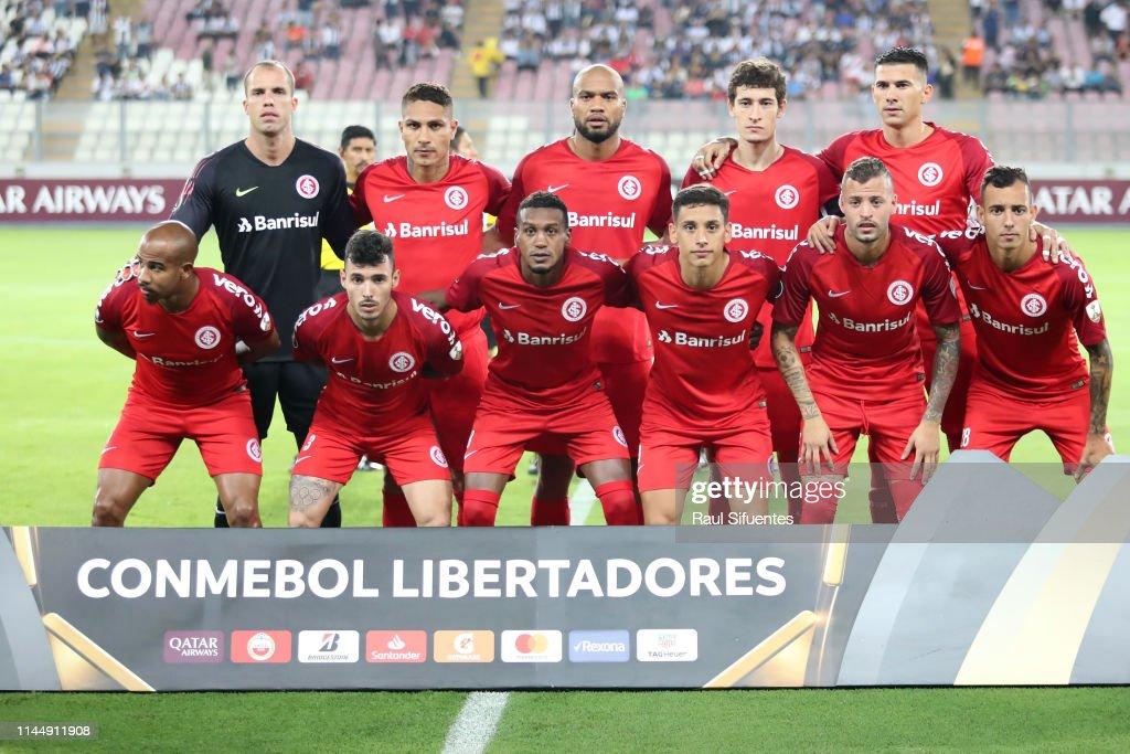 PER: Alianza Lima v Internacional - Copa CONMEBOL Libertadores 2019