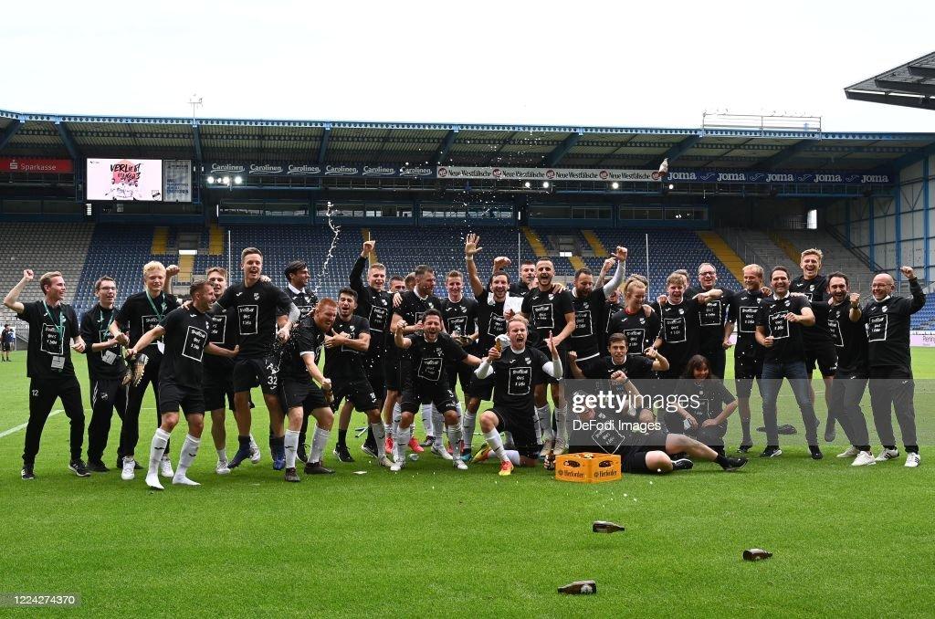 SC Verl v 1. FC Lok Leipzig - 3. Liga Playoff Leg 2 : News Photo