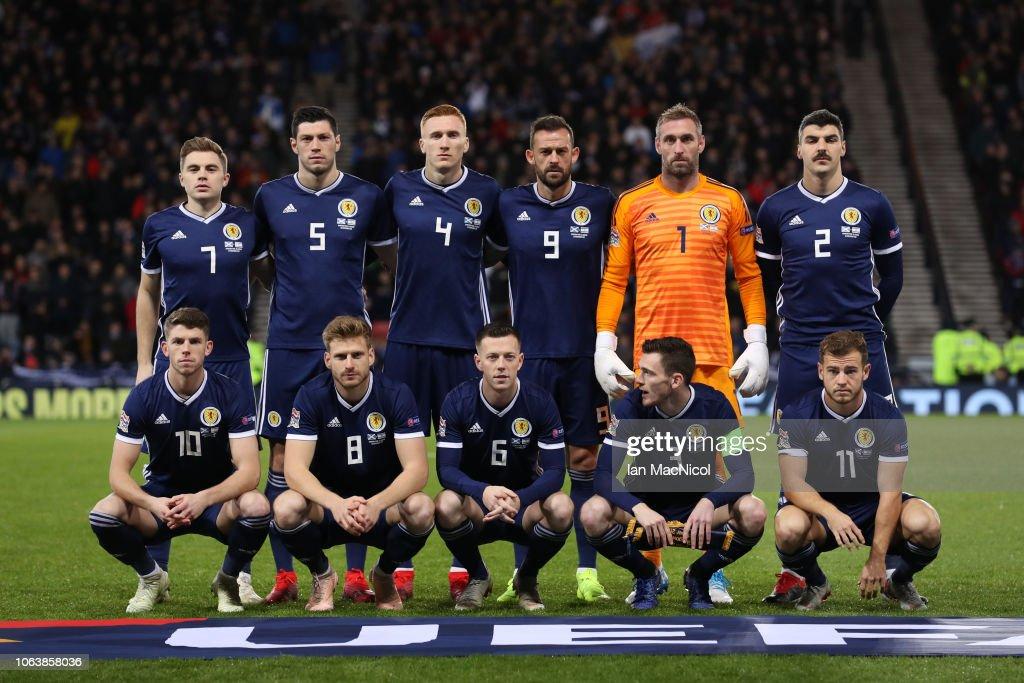 Scotland v Israel - UEFA Nations League C : News Photo