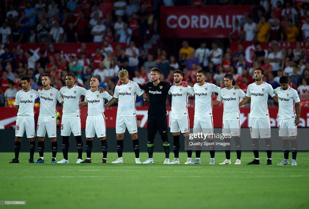 Sevilla FC v Villarreal CF - La Liga : News Photo